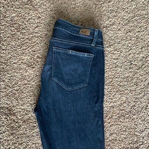 Paige Hoxton Ankle jeans.